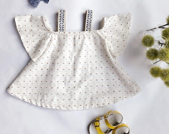 Dotted Swiss Swing Dress