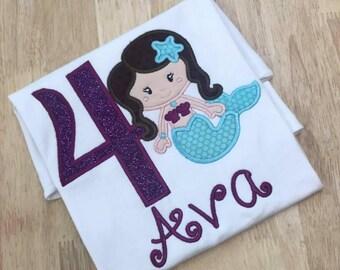Mermaid Birthday Shirt!!