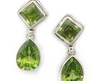 in rose birthstone color stone hoop peridot jewelry earrings infinity c diamond gemologia from stud gold two gemstone august