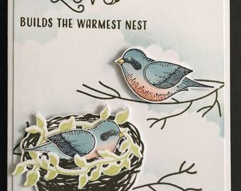 Warmest Nest card