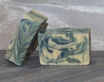 Goats Milk Soap~ Lemon Rosemary