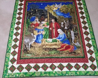 Nativity Wall Quilt 46x57