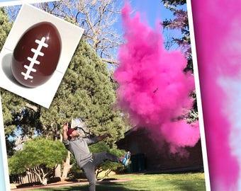 Exploding Gender Reveal Football!