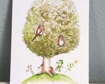 tree (postcard)