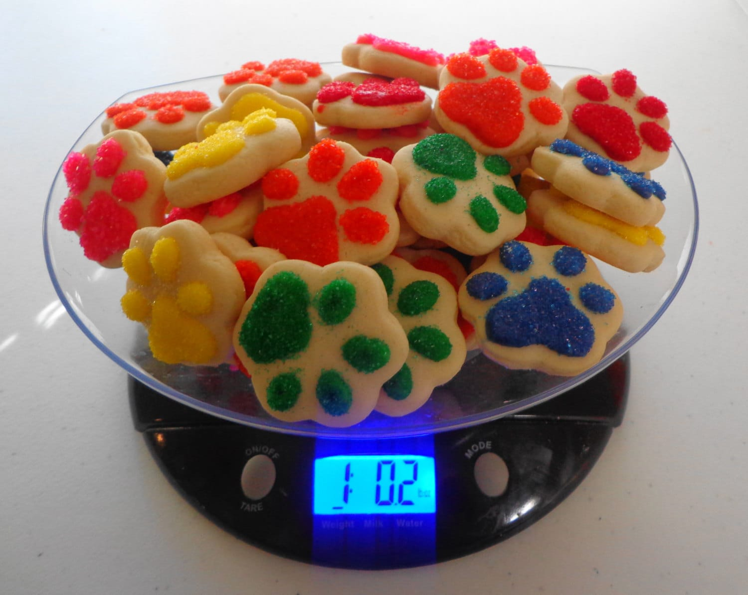 Pound Of Paw Patrol Paws Cookie Charms Paw Print Cookies Paw # Muebles Sirena Animal Crossing