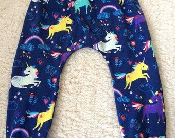 Baby/ toddler leggings - unicorns