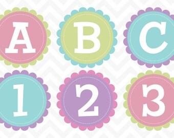 Clipart Alphabet Pastel | alphabet clip art, alphabet clipart, alphabet letters, digital alphabet, clip art, letter clip art, clipart