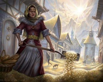 Windfall Print of Magic: The Gathering Illustration by Scott Murphy