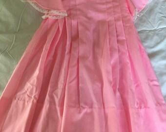 Vintage Handmade Pink Dress