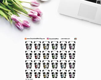 Amanda The Panda ~ DO The DISHES ~ Planner Stickers CAM PaNDA 027