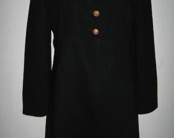 Hanae Mori black wool jacket