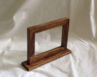 Double Sided Frame, Two Sided Frame, 2 Sided Frame, Double Sided Picture Frame, Reversible Frame, Menu Frame, Wedding Table Frame, Menu Sign
