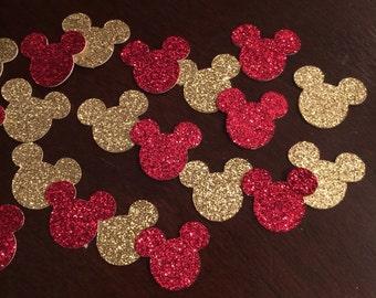 Mickey Mouse Glitter Confetti