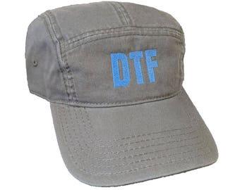 DTF Custom Embroidered Camper Hat/Cap