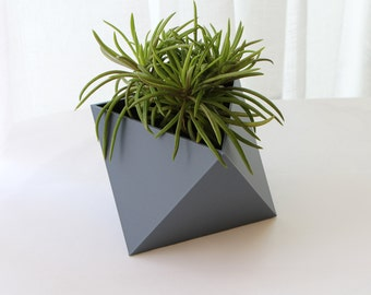 Indoor 3D printed planter Geometric triangle