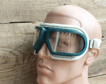 Steampunk Goggles Motorcycle goggles USSR Aviator Goggles Pilot goggles Aviation Pilot, Tankman Protective glasses Eyewear cyber safety