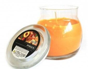 Duftkerzen im Glas, Pfirsich