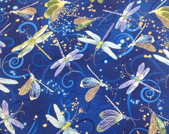 per yard Dance of the Dragonfly by Kanvas Studios