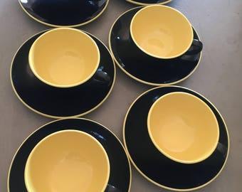 Villeroy & Boch 1950s existentialist coffee set