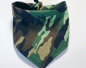 Tacti-Cool | Camo Pet Bandana | Dog Bandana | Cat Bandana |
