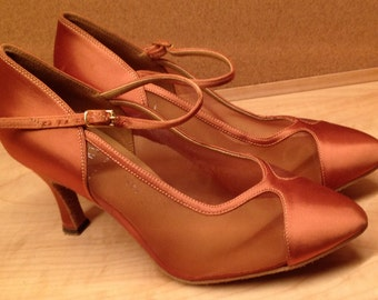 Vintage Dance Shoes Professional Tango Size 6.5 Near New