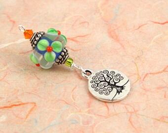 Blessingway bead - Irish Spice Tree of Life - Mother Blessing bead, mama goddess