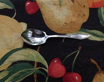Vintage Holmes & Edwards Jamestown Silver Plate Sugar Spoon - 1916 - from DustyMillerAntiques