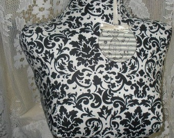 Paris Linen Dress Form Bust To The Waist Jewelry Making Store