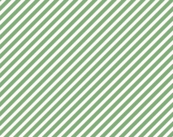 On Trend Stripe Mint One Yard Cut by Jen Allyson of My Minds Eye for Riley Blake Fabric