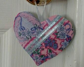 Lavender Scented Heart Sachet