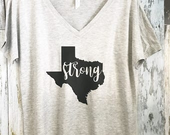Texas is Strong shirt - Texas shirt - Stand with Texas - Texas Proud -  Women's Shirt
