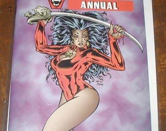 Vamperotica #1 Annual comic book comic cavalcade MINT condition rare find