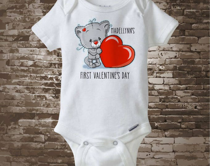First Valentines Day Outfit, First Valentines Day Boy, First Valentines Day Girl, First Valentines Day Onesie, First Valentines 01172017a
