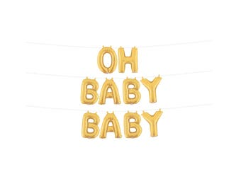Oh Baby Balloons , Oh Baby Baby Shower