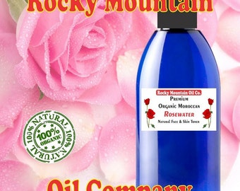 100% Pure Organic Rose Water - Imported from Morocco
