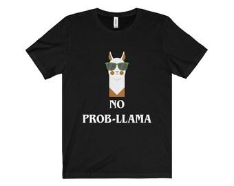 No Prob-Llama Shirt, No Problem Llama Alpaca Shirt