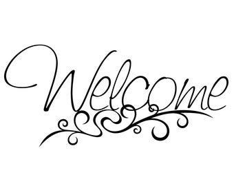 Welcome Decal