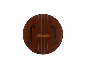 Violin Viola Cello Pinback Button