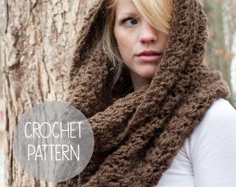 crochet pattern - easy chunky crochet cowl - the charlotte