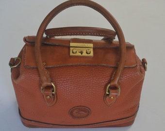 Vintage Dooney and Bourke Doctor Bag/Satchel