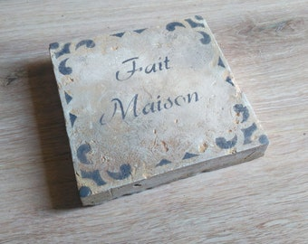 personalized trivet
