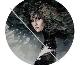 1.2  inch ,  pretty goddess, fairy