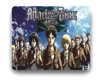Attack On Titan Mousepad Prints Shingeki No Kyojin