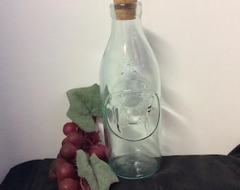 Vintage Absolutely Pure Milk Bottle