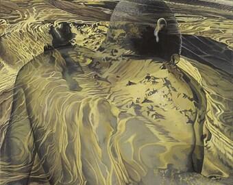 Illusion, Loss Revealed - Ltd Ed. Giclée Art Print on Canvas by Jane Nicol