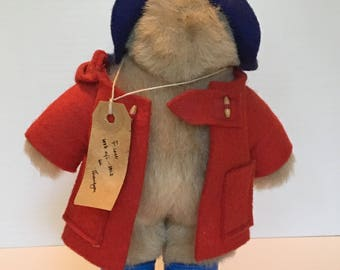 "Vintage Paddington Bear 8"" Gabrielle Designs 1977"