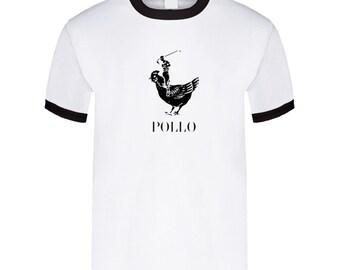Pollo Ringer T Shirt