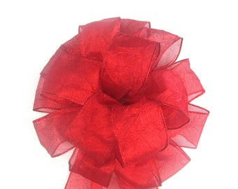 Red Bow, Christmas Bow