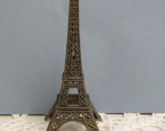Bronze Tone Souvenir Eiffel Tower