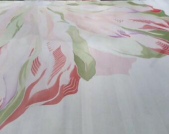 Hand painted silk supplies Silk Fabric scraps / Sewing supplies Textile art supplies Fabric by the yard Silk fabric material Resistant silk